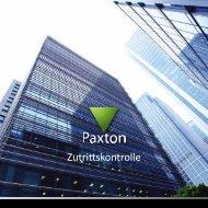 Zutrittskontrolle - Paxton