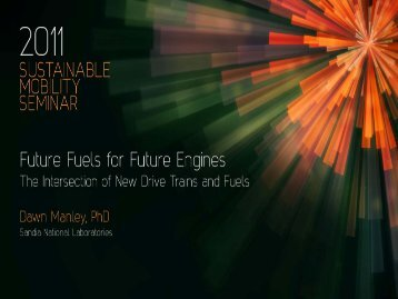 Future Fuels for Future Engines - Toyota