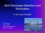 10. Duluth Case Study - Erosion and Stormwater Management