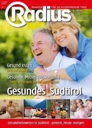 Gesundes Südtirol 2010