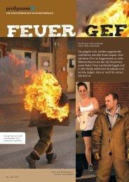 Feuer geF angen - Fachverlag Schiele & Schön