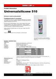 Universalsilicone 510 - Dana Lim A/S