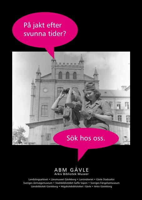 ArkivBibliotekMuseerGävle - Högskolan i Gävle