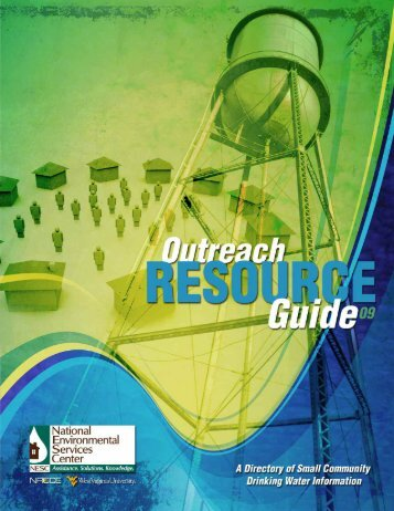 Outreach Resource Guide - National Environmental Services Center ...