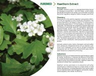 Hawthorn Extract - Euromed