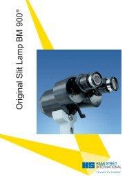 Original Slit Lamp BM 900