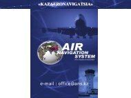 e-mail : office@ans.kz - Aeronautics Days 2006