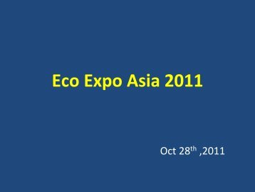 """What is """"Low Carbon""""? - Eco Expo Asia"""