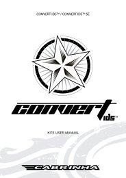 CONVERT IDS™ / CONVERT IDS™ SE - Cabrinha