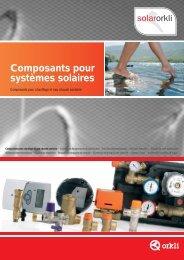 Composants pour systèmes solaires - Orkli