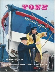 ATE Tone Magazine - Winter 1957