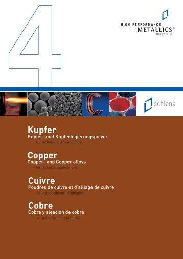Prospekt Kupfer (4) - Schlenk