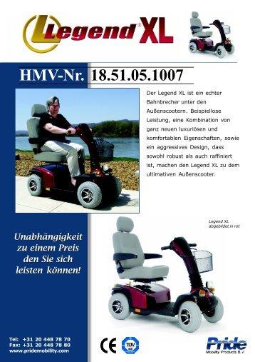 HMV-Nr. 18.51.05.1007 - Aigner Reha-Technik