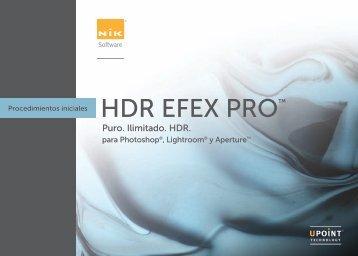 HDREfexPro-Manual - Fernando Gago