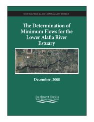 Minimum Flows for the Estuary - Southwest Florida Water ...