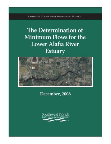 Minimum Flows for the Estuary - Southwest Florida Water ...