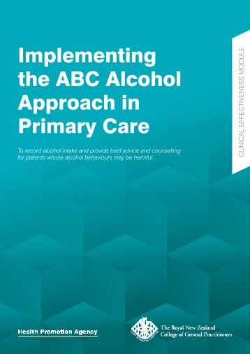 Implementing the ABC Alcohol Approach in Primary Care