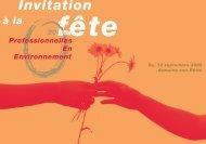 Invitation - FachFrauen Umwelt