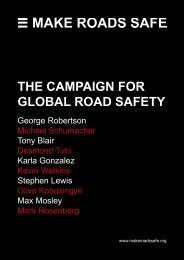 Download The Campaign for Global Road Safety - FIA Foundation