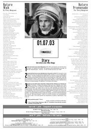 1er juillet 2003 - Festival international du documentaire de Marseille