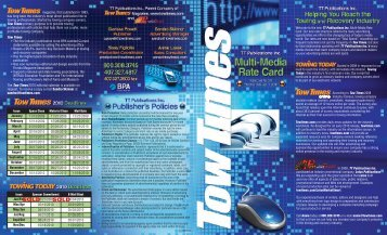 SOLD SOLD - Tow Times Magazine Online