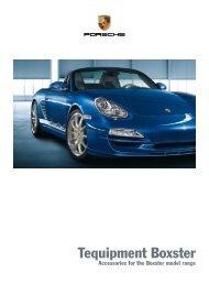 Tequipment Boxster - Porsche
