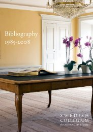 SCAS Bibliography - 2008 - Swedish Collegium for Advanced Study