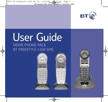 BT Freestyle 4100 - UK Surplus