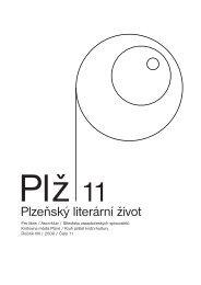 Ročník VIII, číslo 11, 2009 - Knihovna města Plzně
