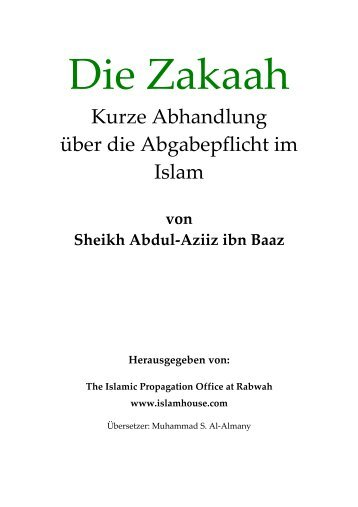 Die Zakaah.pdf - Way to Allah