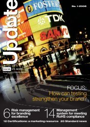 FOCUS: How can testing strengthen your brand? - Intertek