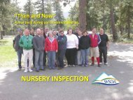 nursery inspection - Washington State Department of Agriculture