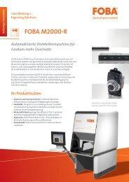 FOBA M2000-R - FOBA Laser Marking + Engraving | Alltec GmbH