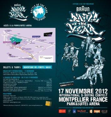 17 novembre 2012 17 novembre 2012 - Battle Of The Year