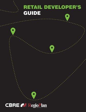 Retail Developer`s Guide - RegioPlan Consulting