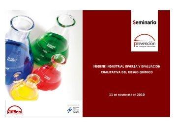 Higiene Industrial Inversa y Evaluación Cualitativa Del Riesgo - Fesitel