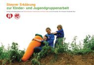 Steyrer Erklärung zur Kinder- und ... - Kinderfreunde