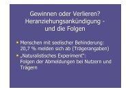 Kurzversion - LAG Wohnen für behinderte Menschen e.V.