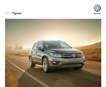 2012 Tiguan - Driving Force Automotive Marketing