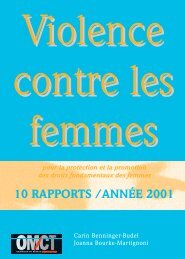 version complète - World Organisation Against Torture