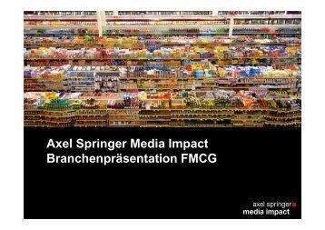 FMCG - Axel Springer MediaPilot