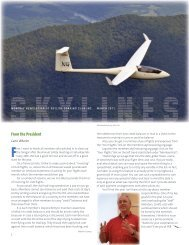 From the President - Skyline Soaring Club