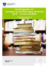 Læs den samlede handlingsplan her - Fredensborg Kommune