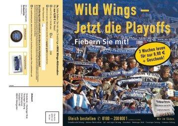 Fiebern Sie mit! - Schwenninger Wild Wings
