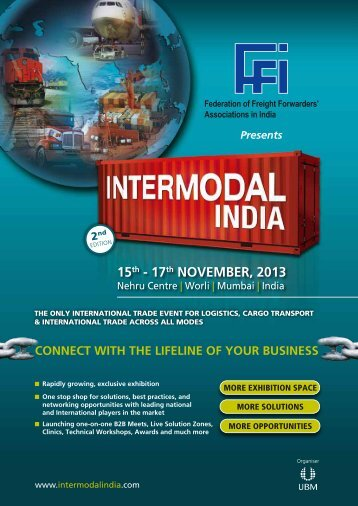 Exhibitor Brochure - Intermodal India