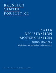 VOTER REGISTRATION MODERNIZATION