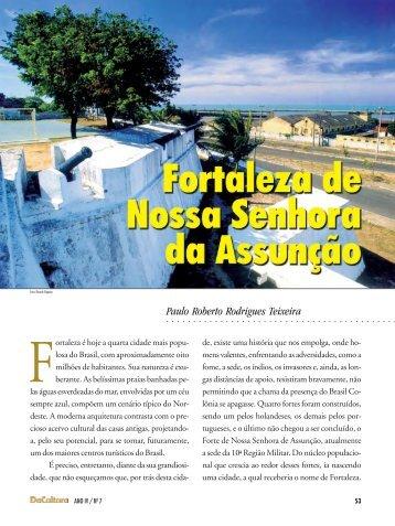 reportagem - Fortaleza de Nossa Senhora da Assunção - FunCEB