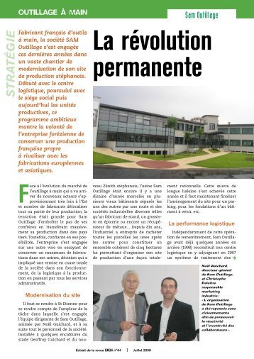 Article BBI sur SAM Outillage