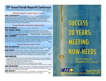 success 20 years: meeting now-needs - Blacktie South Florida