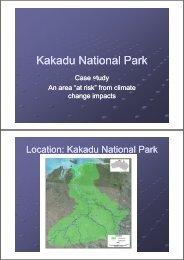Kakadu Case Study